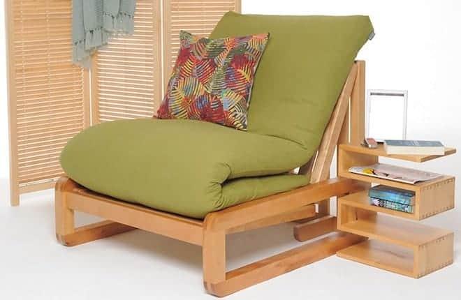 Кресла-футоны каркасные