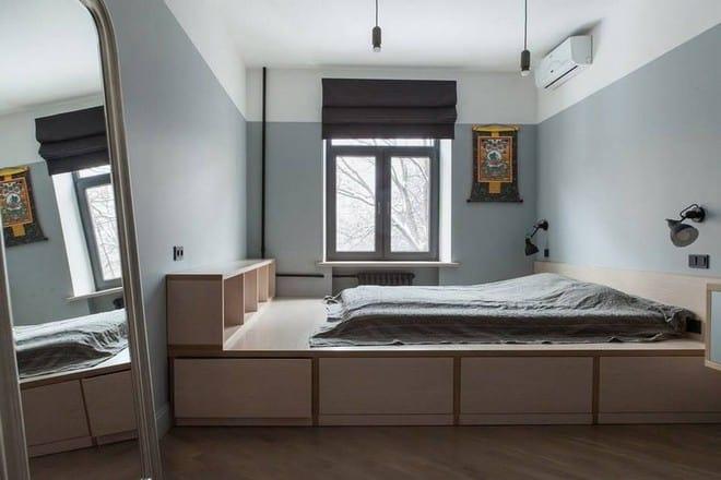 Плюсы и минусы кроватей подиумов