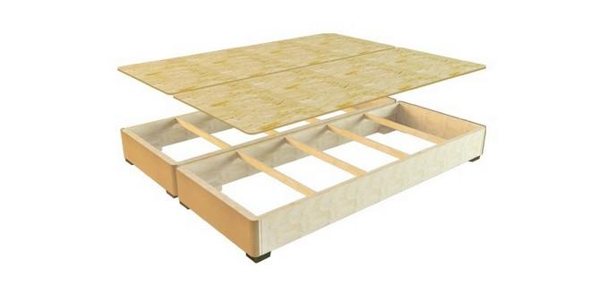 Каркас и настил кровати подиума