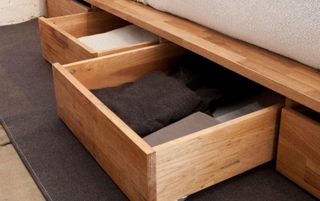 Выдвижные элементы кровати подиума