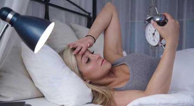 Бессонница — нарушение режима сна