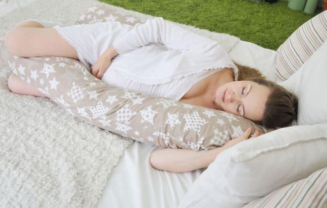 Подушка для беременных комфортно