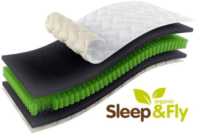 матрас ЕММ серии Sleep&Fly Organic Gamma