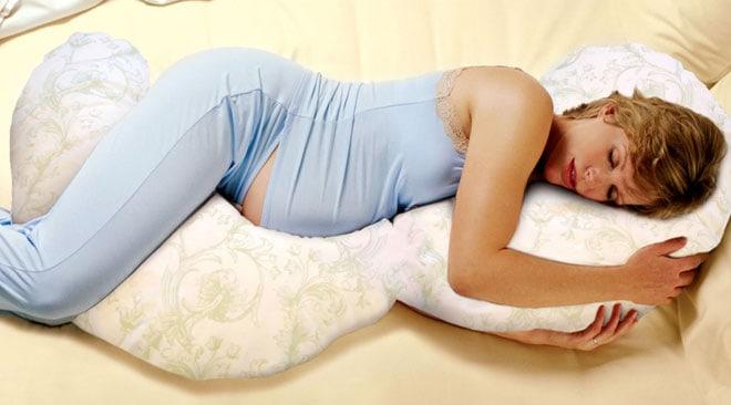 Подушка для беременных плюсы
