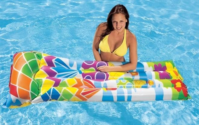 Надувные матрасы для купания