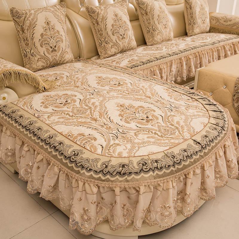 диван с оттоманкой