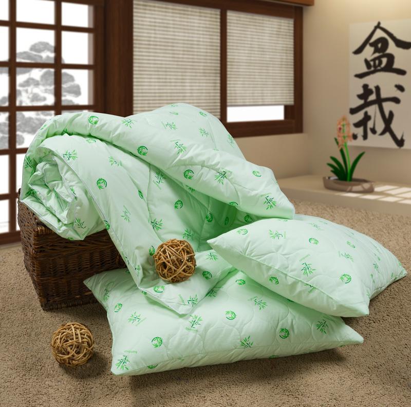 зеленое теплое одеяло