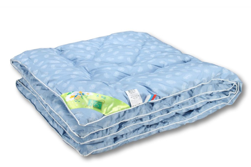 Сложенное одеяло