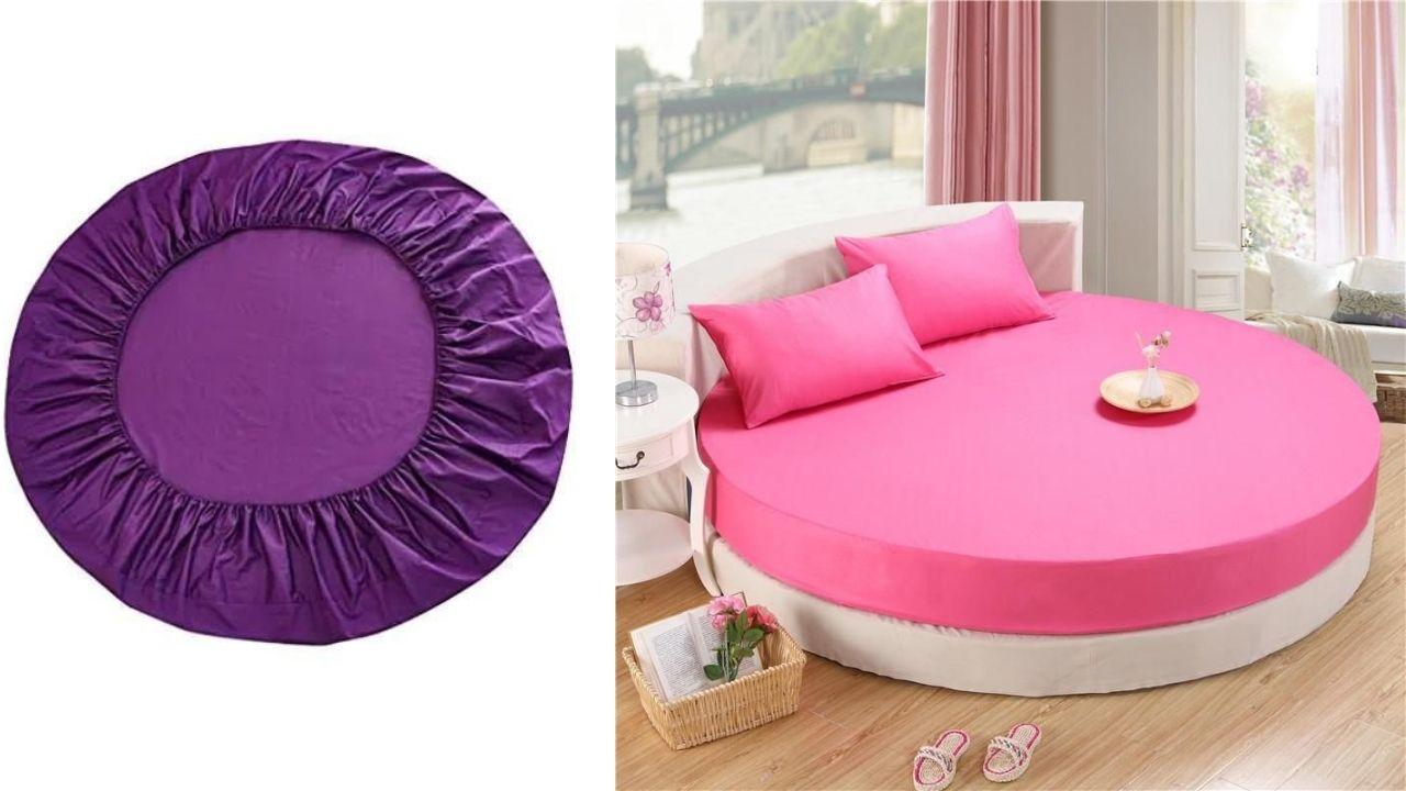 Кровать и простынь