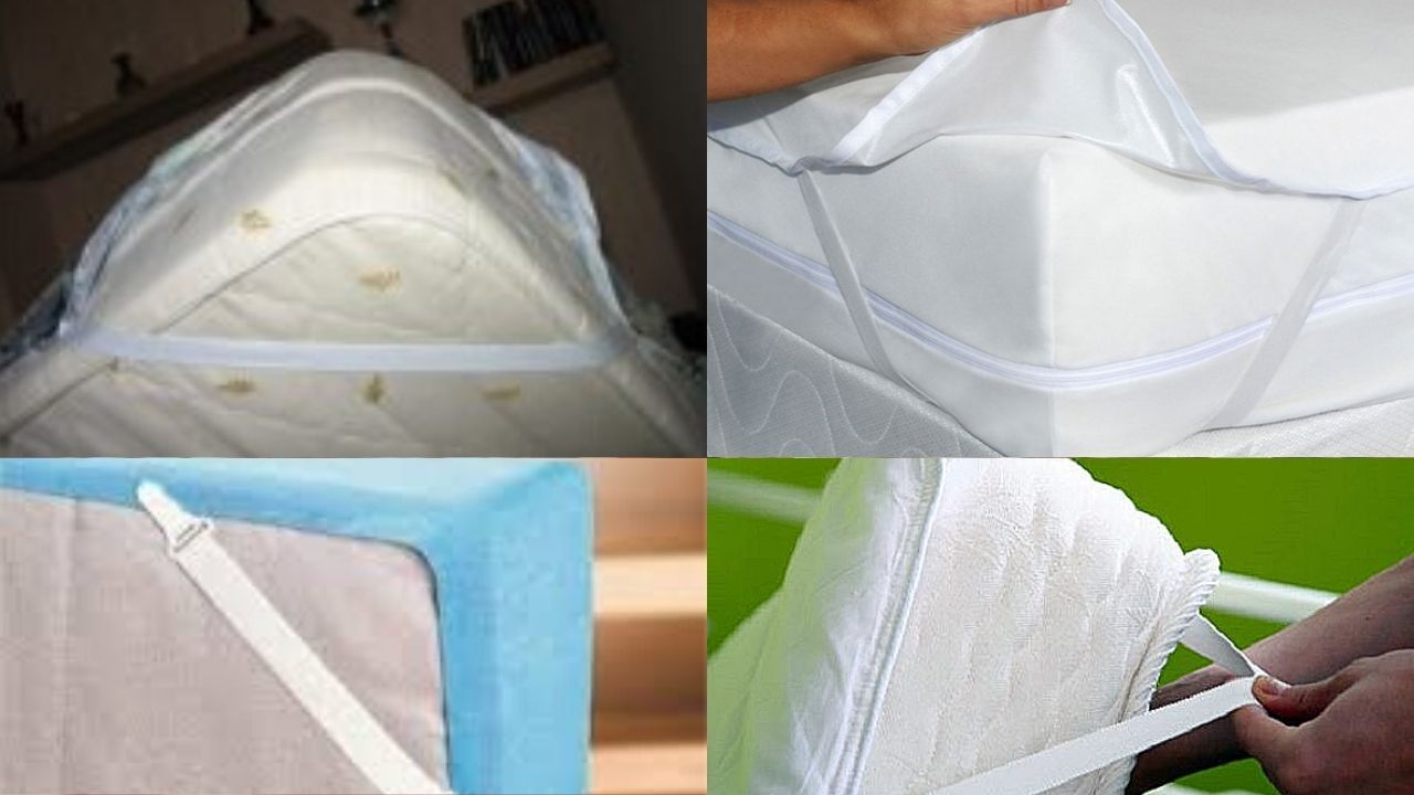 Резинки на углах матраса